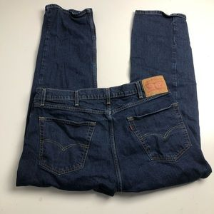 Levi's 505 Straight Cut Jeans Mens Size 38x30